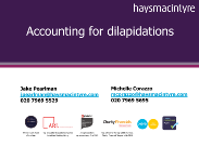 Hays Macintyre - Accounting for Dilapidations.pdf