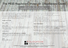 MEES Regulations Impact on Dilapidations Claims